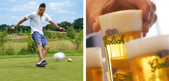 Footgolf & Borrel-arrangement | Nu € 35
